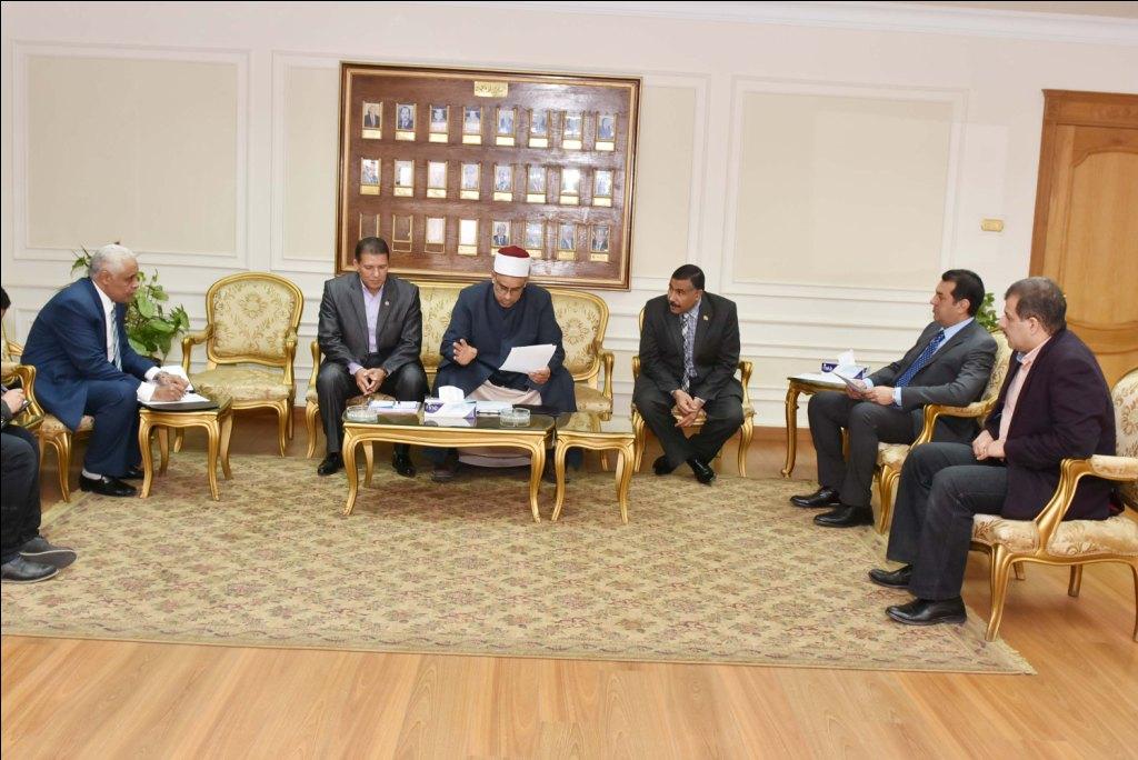 اجتماع الأوقاف والخطاب الديني (2)