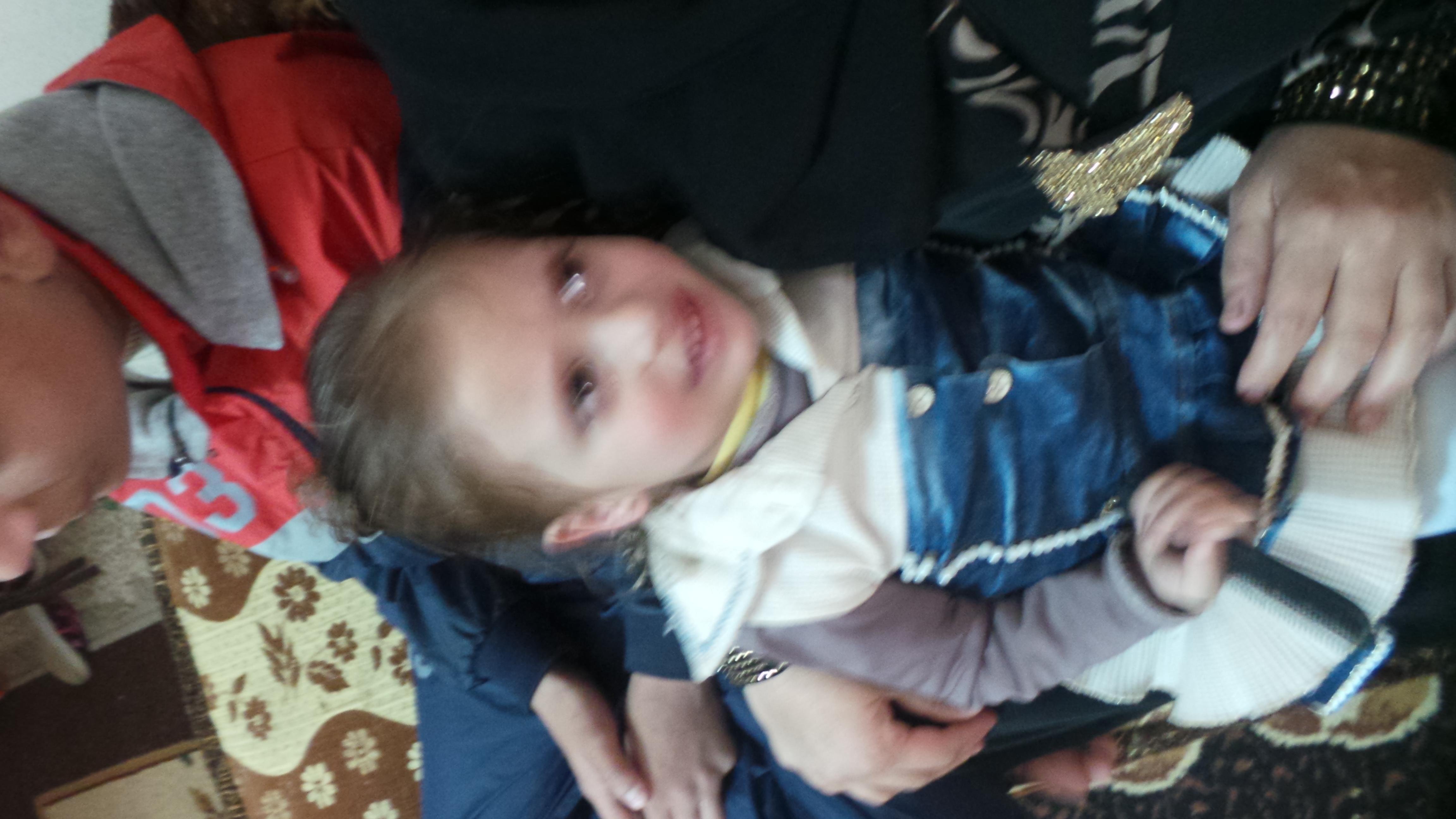 الطفلة ريهام