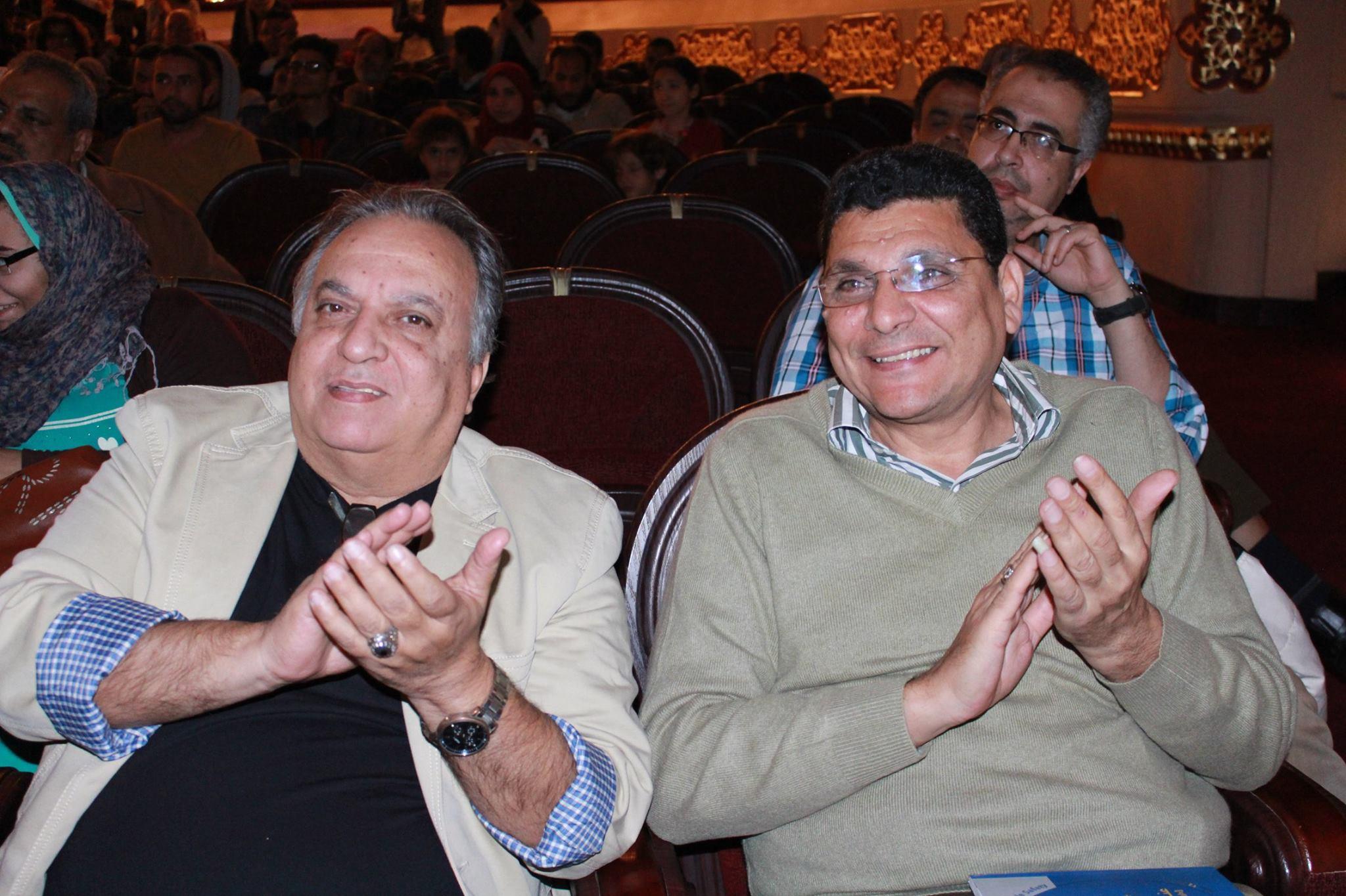 المخرج المسرحى إيميل شوقى