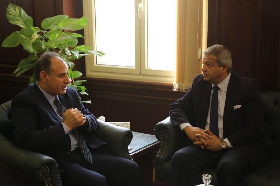 وزير الرياضة ومحافظ الاسكندرية