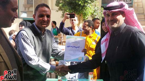 رئيس مدينة أبو زنيمة ووفد المبادرة