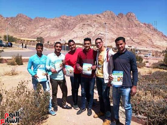 شباب جنوب سيناء يدعمون المبادرة