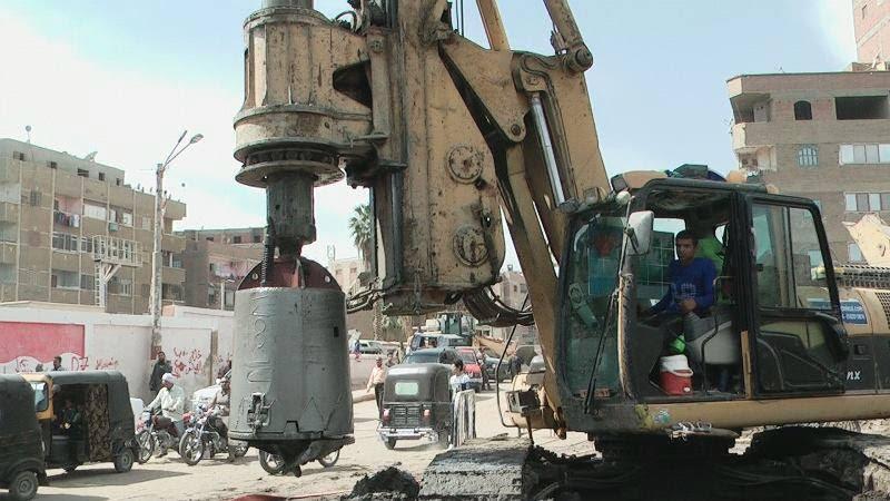 معدات حفر المحور
