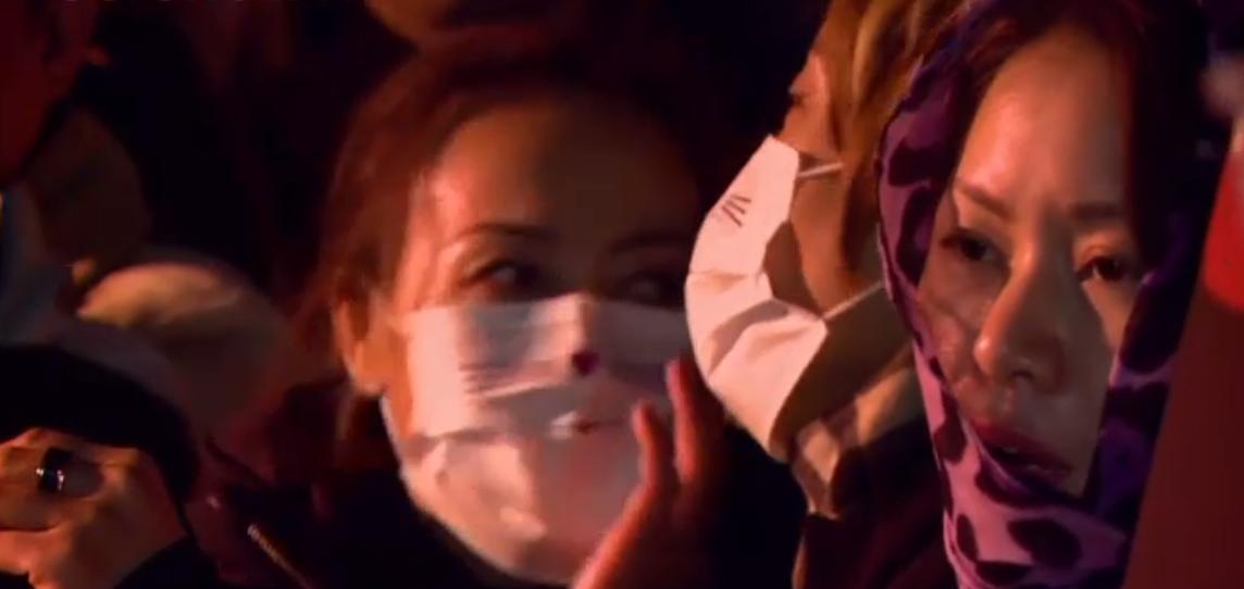 مظاهرات الصينيين فى فرنسا