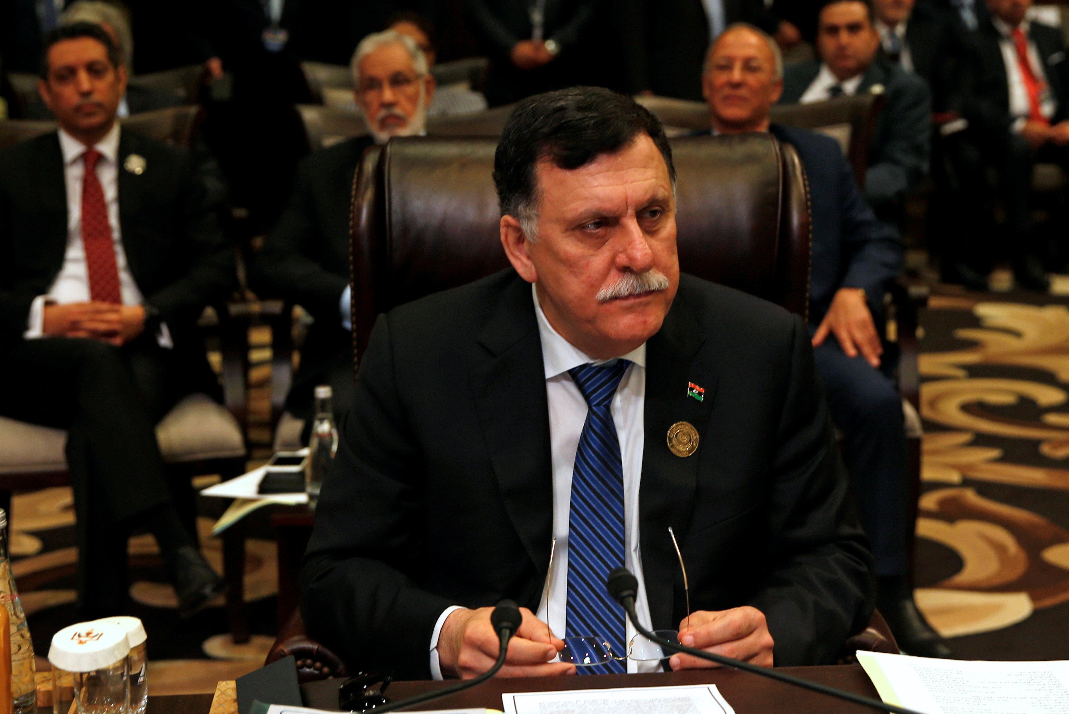 رئيس حكومه الوفاق الليبيه - فايز السراج