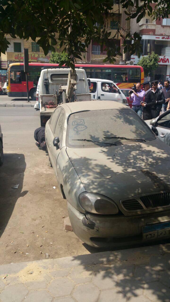 مرور القاهريرفع السيارات المتهالكه من الشوارع (8)