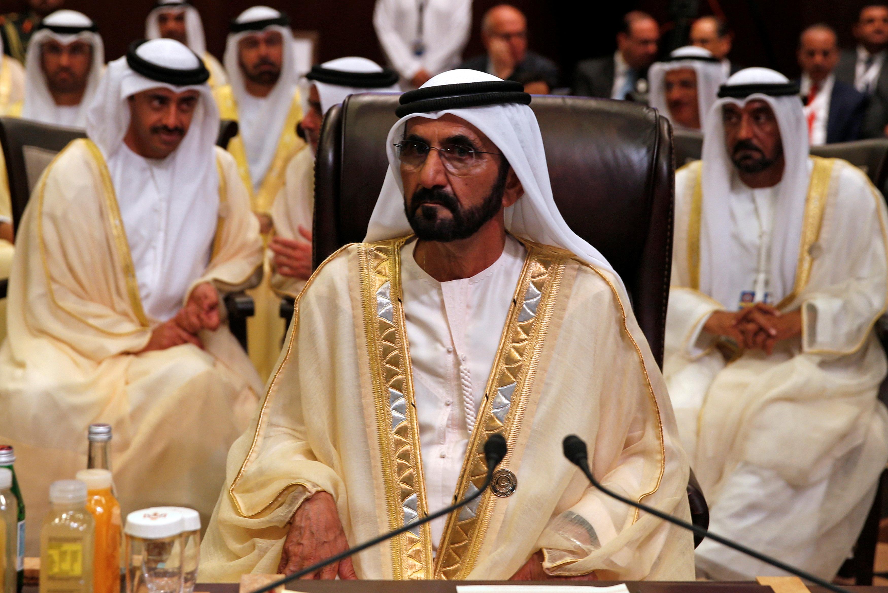حاكم دبي الشيخ محمد بن راشد ال مكتوم