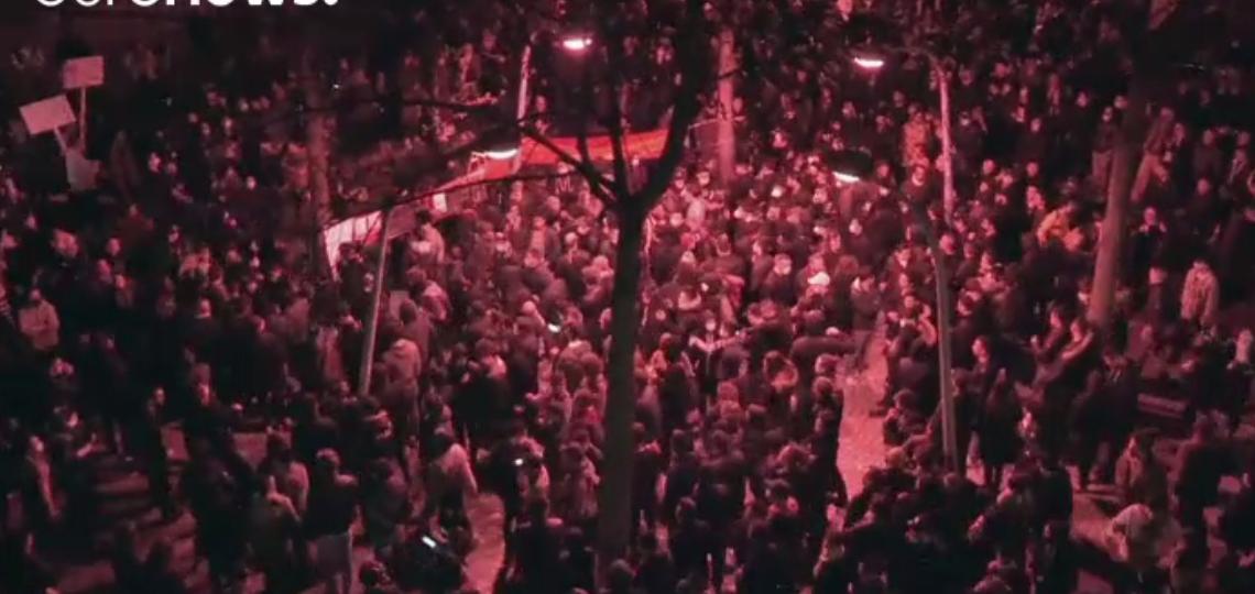 تظاهرات الصينيين