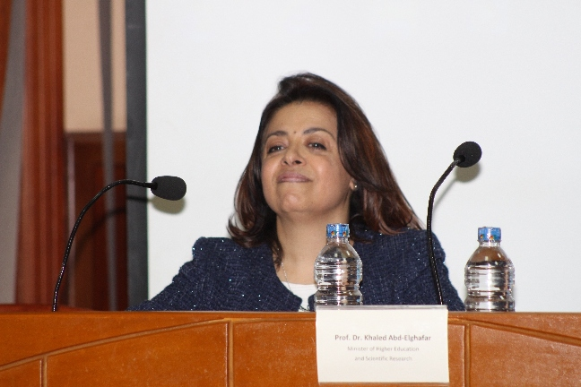 دكتور حنان الليثى عميدة كلية الصيدلة بجامعة MSA