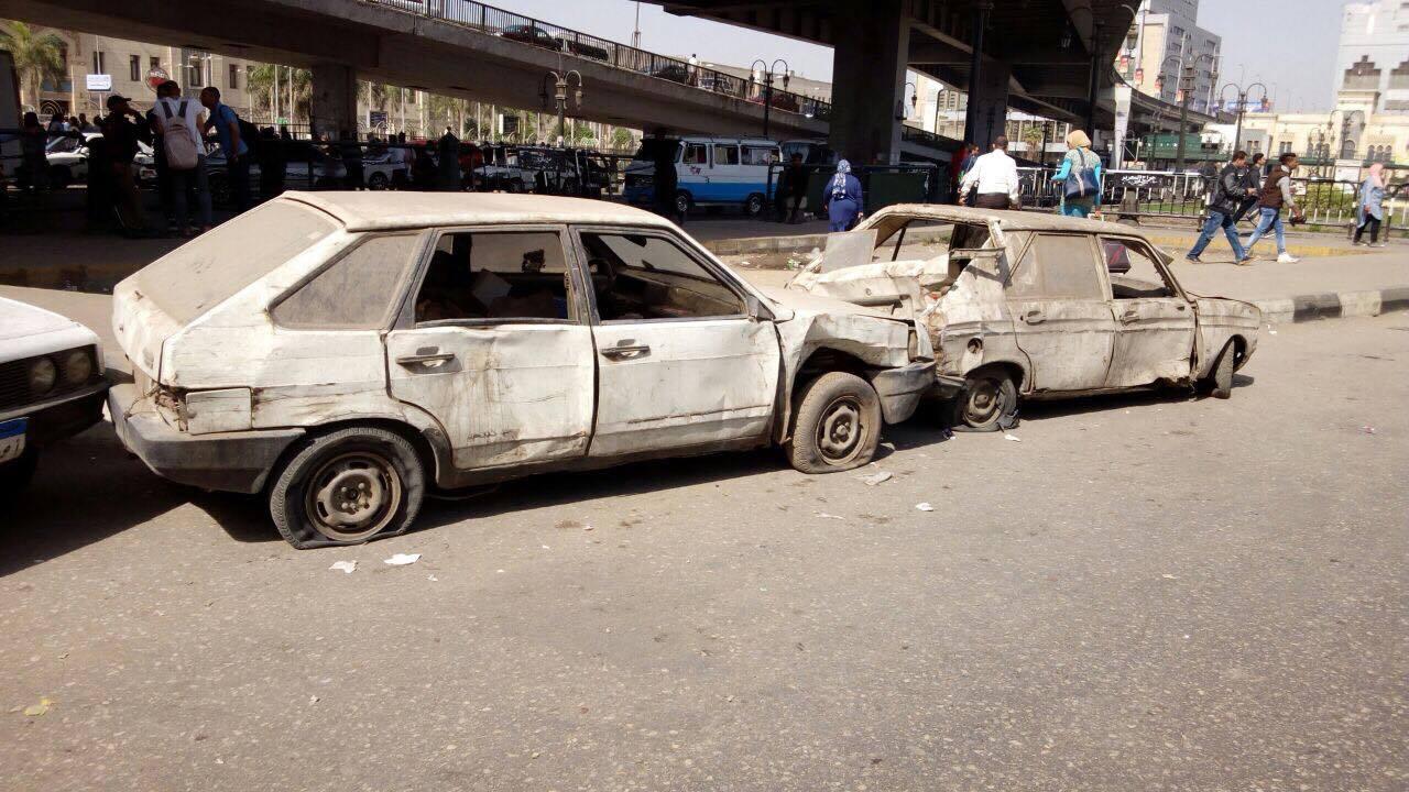 مرور القاهريرفع السيارات المتهالكه من الشوارع (1)