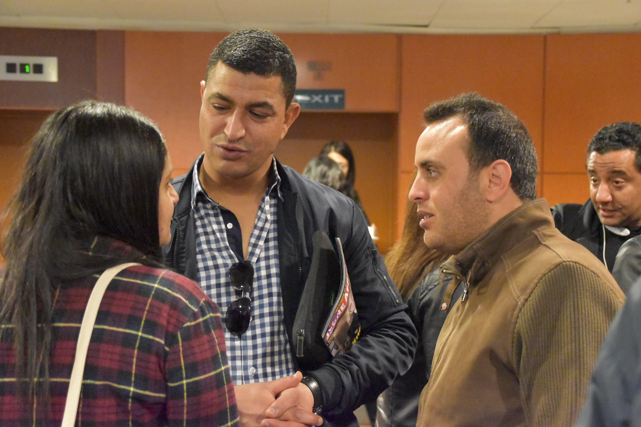 جانب من المؤتمر الصحفي لايام قرطاج الموسيقية