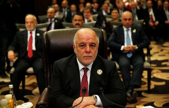 حيدر العبادي رئيس الوزراء العراقي