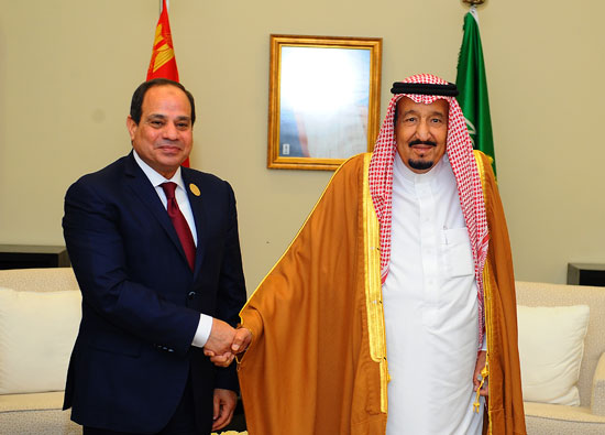 السيسى والملك سلمان القمه العربيه  (2)