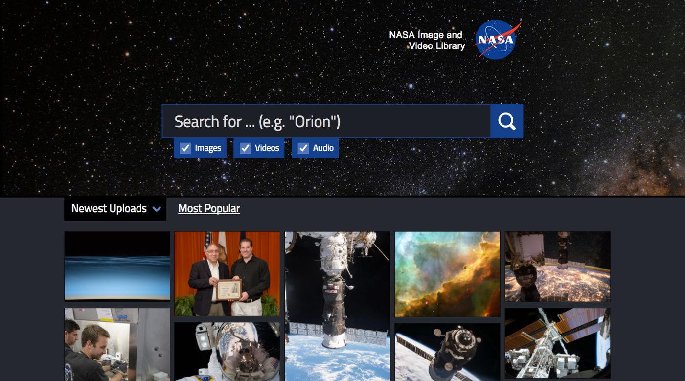 مكتبة ناسا