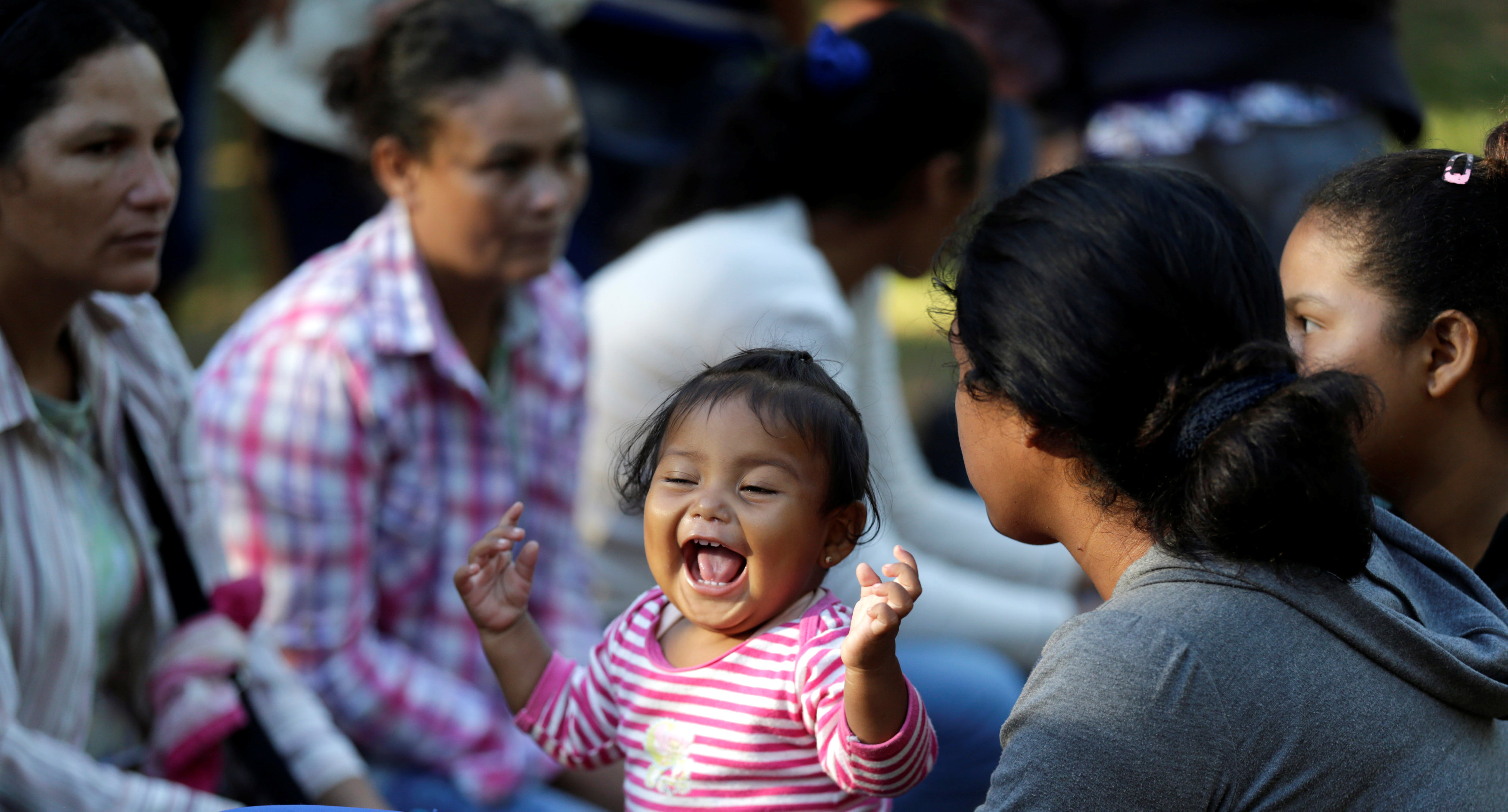 مشاركة الأطفال في تظاهرات باراجواى
