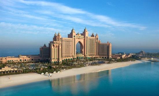 شكل الفندق من الخارج (2)
