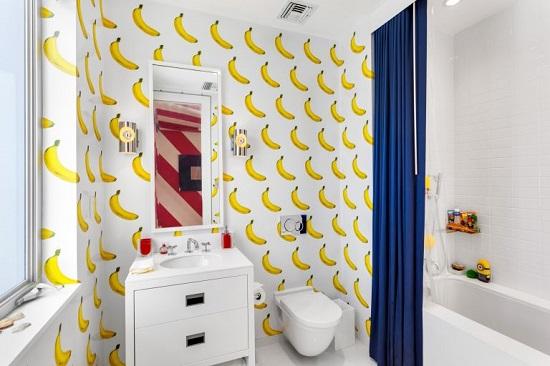 حمام بتصميم جرىء وغريب