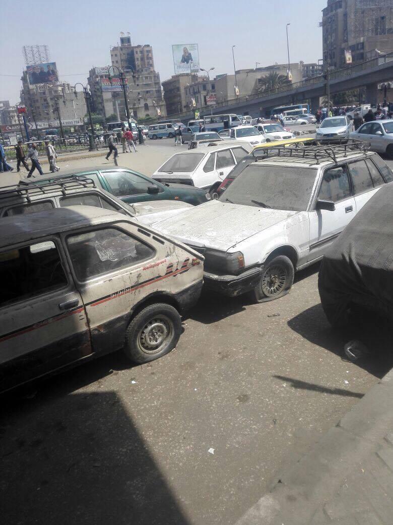 رفع سيارات متهالكه من شوارع القاهره (5)