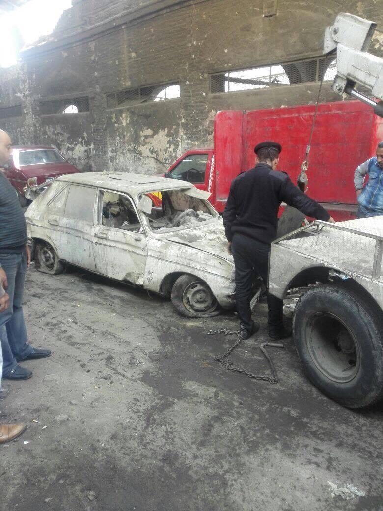 رفع سيارات متهالكه من شوارع القاهره (12)