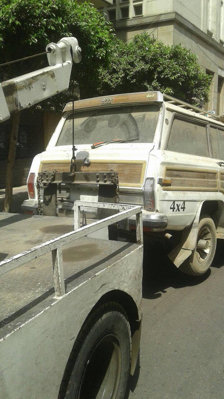 رفع سيارات متهالكه من شوارع القاهره (13)
