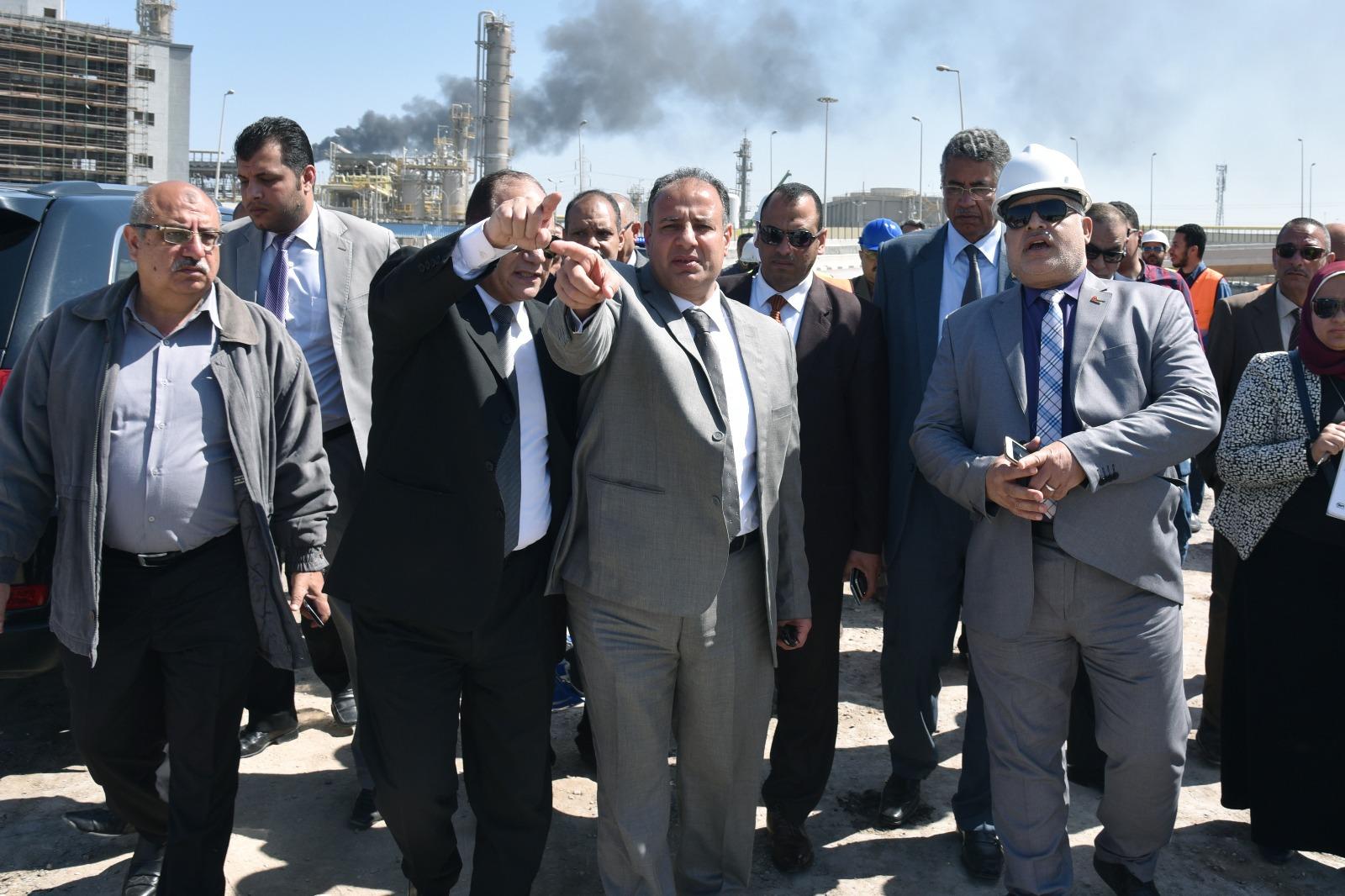 جولة محافظ الإسكندرية