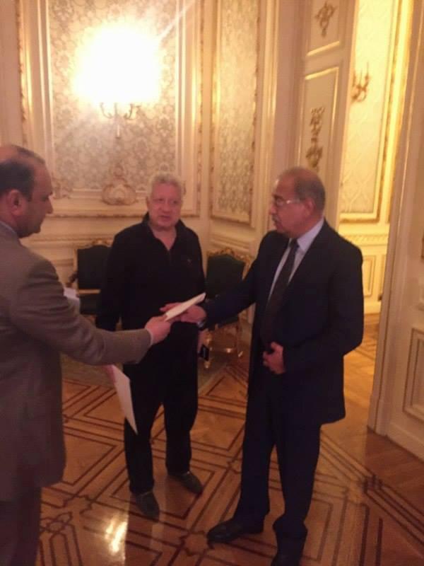 رئيس الوزراء يستقبل مرتضى منصور
