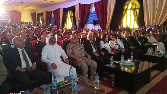 جانب من حضور مؤتمر توقيع عقود استثمارات جديدة فى سيوة