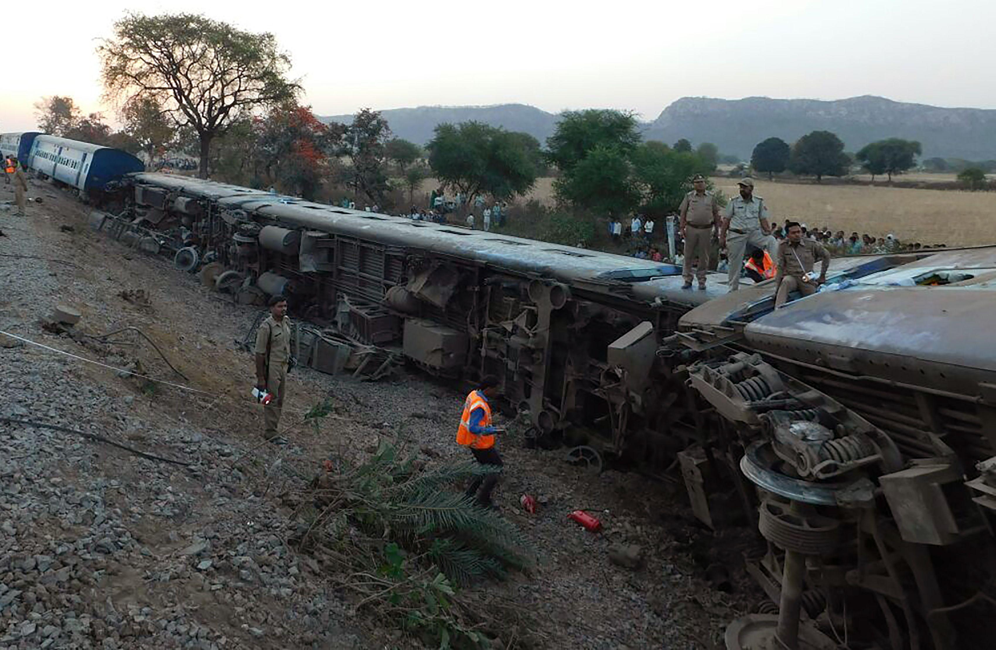 حادث قطار الهند