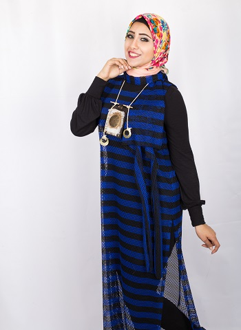 fe1ee8f9b اتفرجى على حجاب رحاب.. بالصور كولكشن الصيف للمحجبات ببصمة