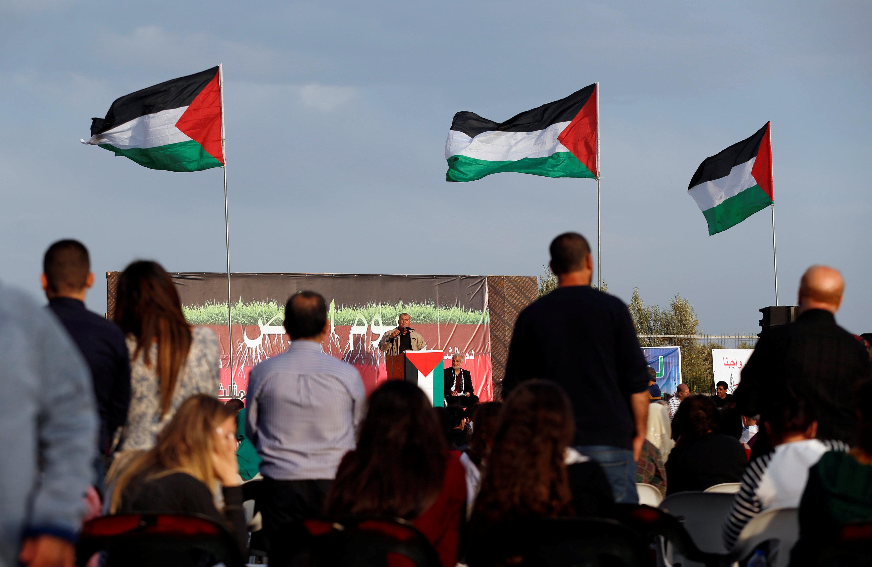 مسيرة للفلسطينيين