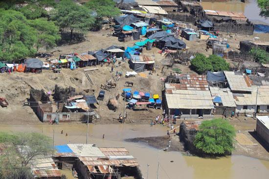 ارتفاع حصيلة ضحايا فيضانات بيرو لـ 97 قتيلا