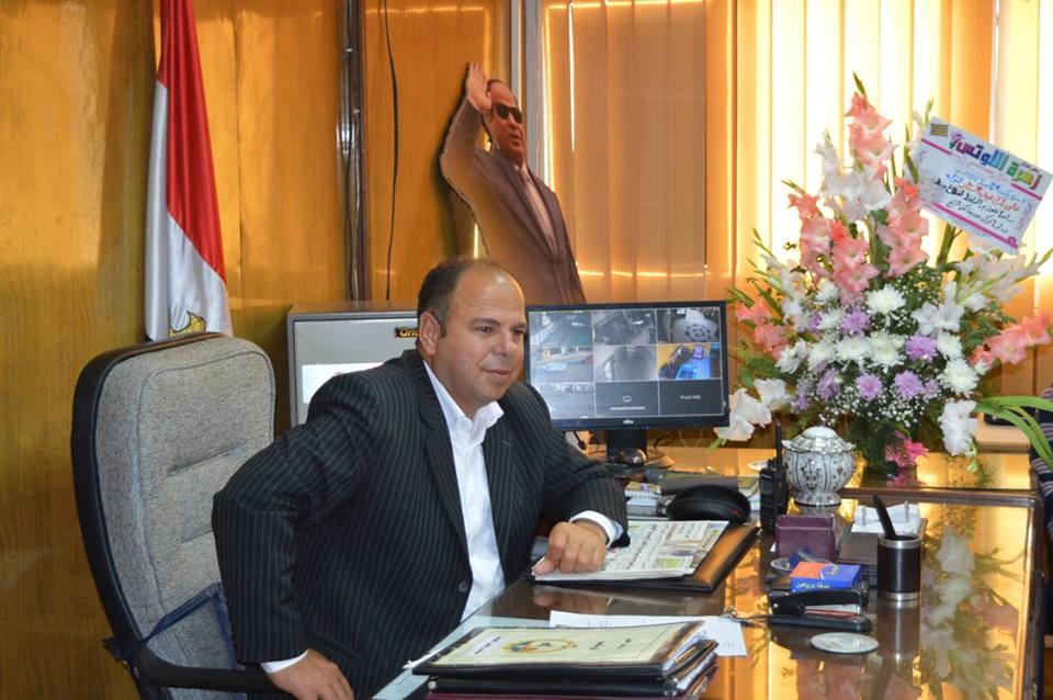 1- مساعد محافظ كفر الشيخ خلال الاجتماع بنواب رئيس مدينة كفر الشي ورؤساء القرى