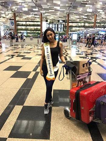 ملكة جمال سنغافورة للسياحة