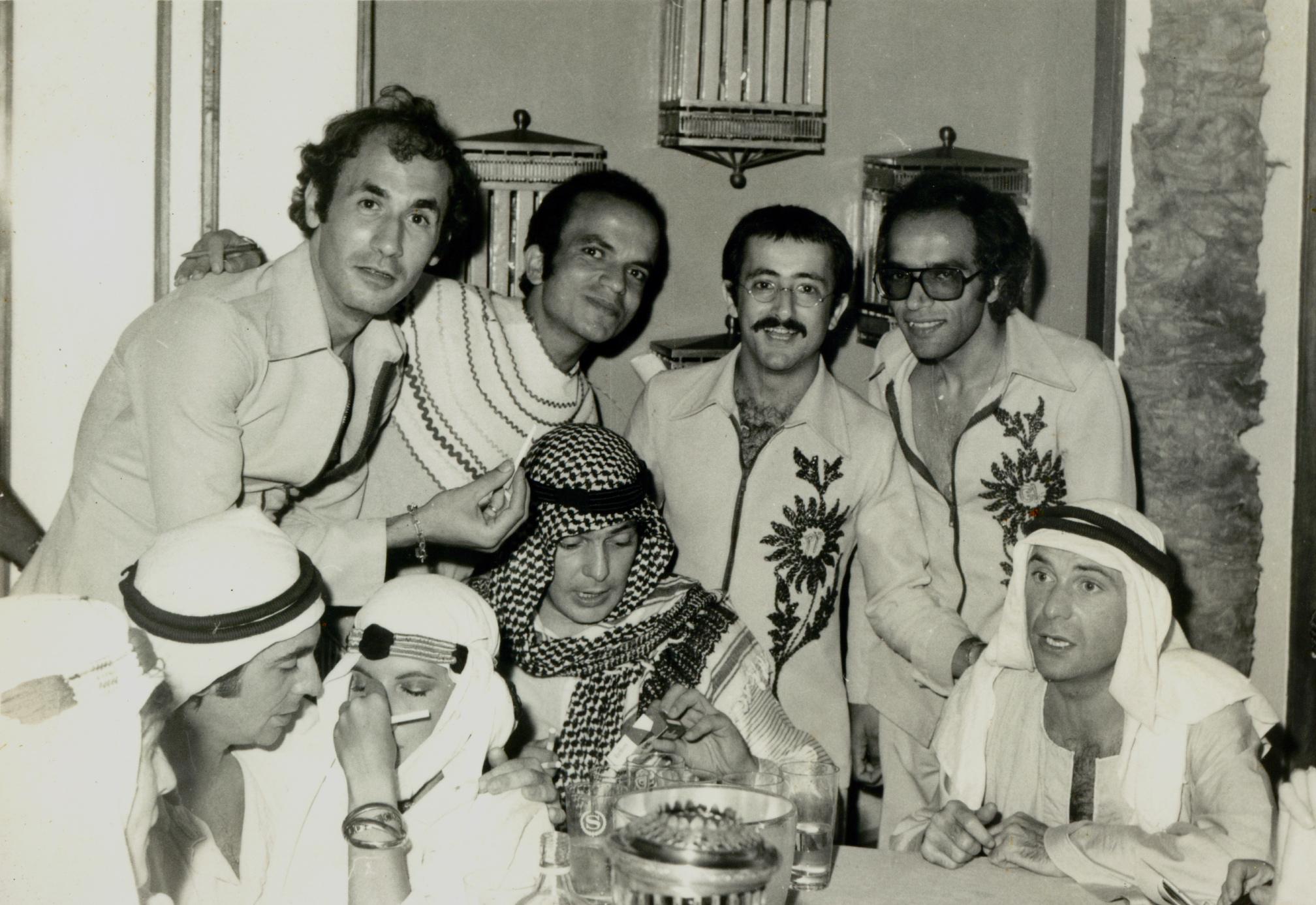 1-      بيرج أندرسيان، عزت أبو عوف، وجدي فرانسيس، عمر خيرت وفريدي رزق أول أعضاء الفريق سنة 1967