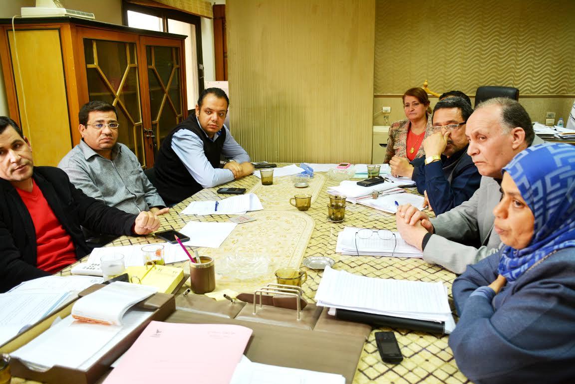 قيادات لجنة  الاستثمار بسوهاج