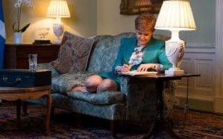 رئيسة الوزراء الأسكتلندية نيكولا ستيرجن