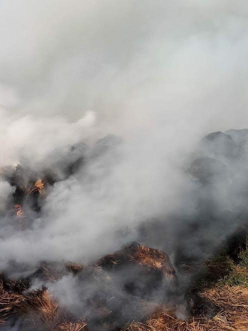 محالات رجال الدفاع المدنى لإخماد الحريق