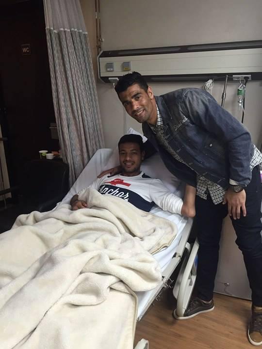 محمد صبحى يزور أحمد خيرى