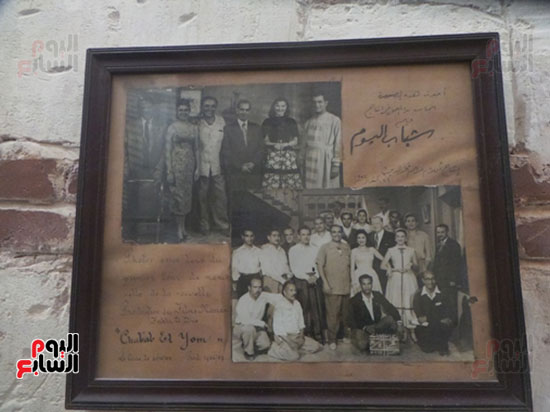 صورة تذكارية لبدء فيلم شباب اليوم