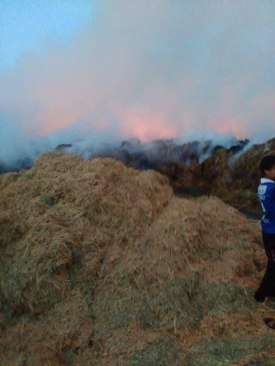 النيران تزداد بمنطقة العلوي
