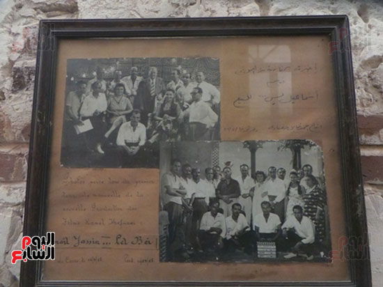 صورة تذكارية لبدء فيلم إسماعيل يس للبيع