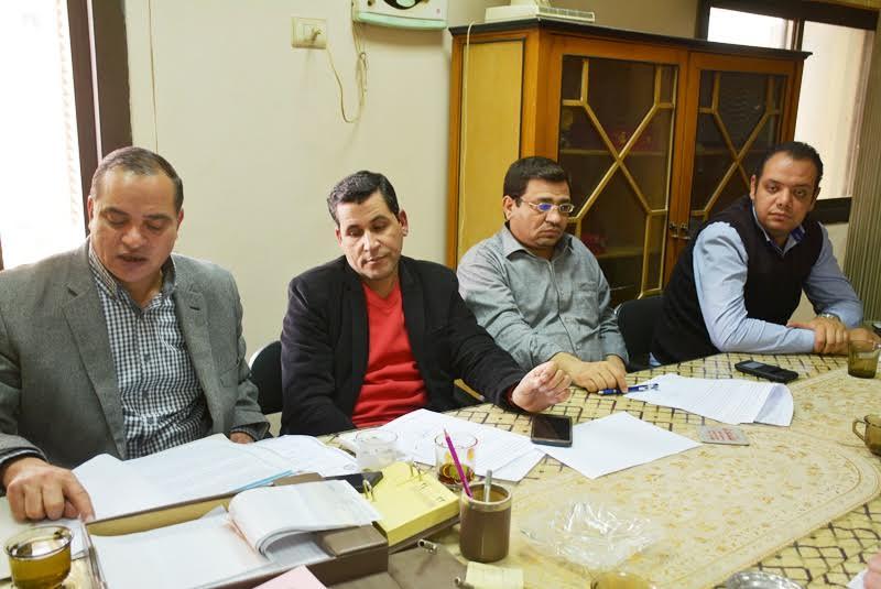 اجتماع لجنة الاستثمار