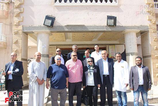 لجنة الصحة بالبرلمان في زيارات لمستشفيات الاقصر