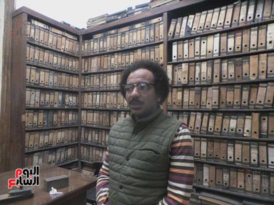 عبد الله ضيف مدير البرامج فى مؤسسة جدران