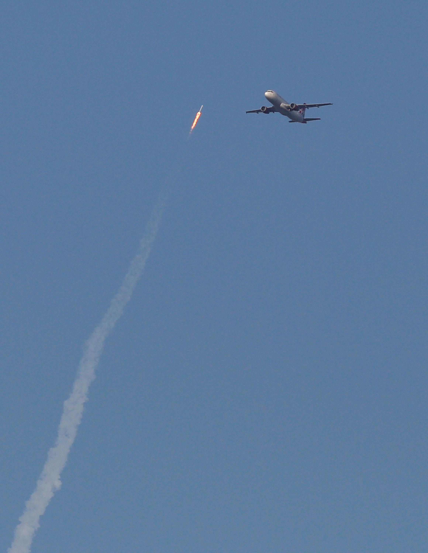 سبيس إكس تطلق أول صاروخ مستعمل