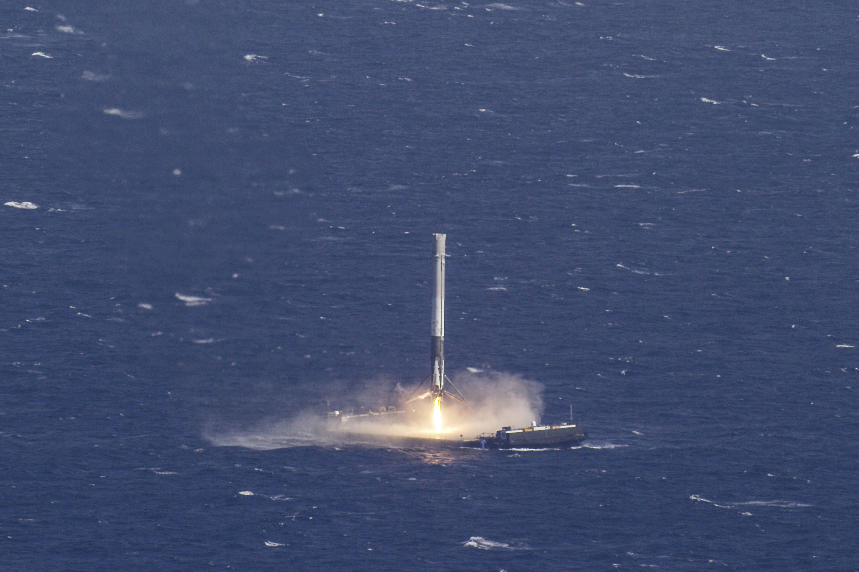 لحظة إطلاق الصاروخ