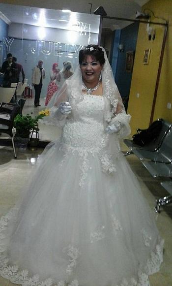 العروس فى الكوافير