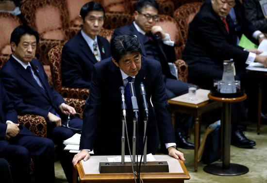 جانب من المؤتمر الصحفى عقب اطلاق صواريخ كوريا الشمالية