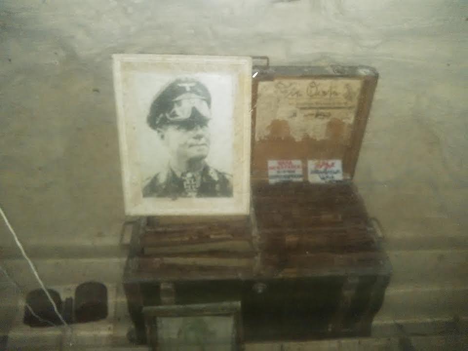 صندوق وصورة لروميل