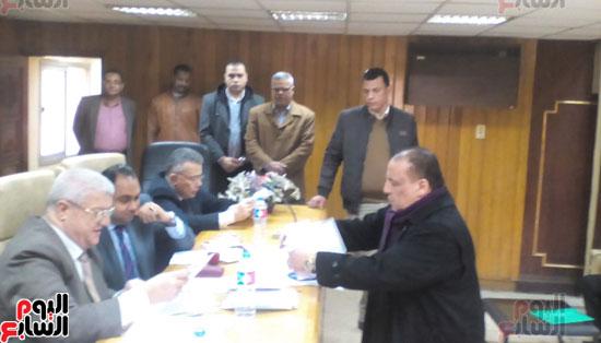 اللجنة العليا للانتخابات بالمنوفية